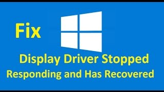getlinkyoutube.com-Display Driver Stopped Responding and Has Recovered!! Fix - Howtosolveit