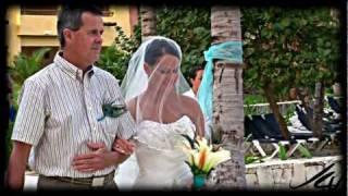 getlinkyoutube.com-Lauren's Barcelo Maya Beach Tropical Wedding
