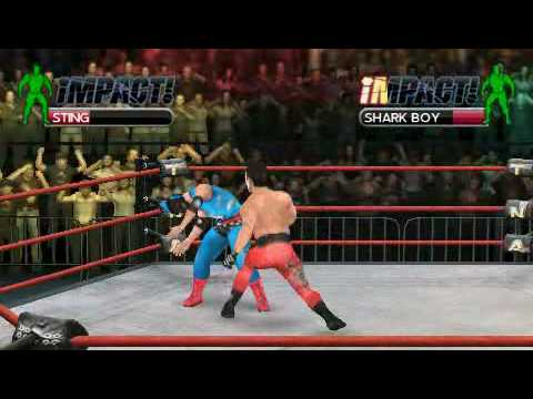 TNA Impact Cross the Line - Club PSP Lima Perú