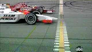 getlinkyoutube.com-2008 Indy Car Championship Chicagoland Photo Finish!!!!