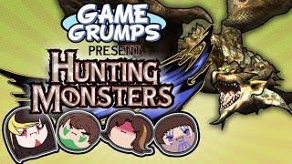 GAME GRUMPS PRESENT: HUNTING MONSTERS EP.3 RATHIAN - Polaris