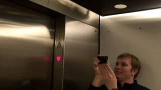 getlinkyoutube.com-Elevator Trio: Otis service / former FB Limited elevator @ plaza Frontenac Frontenac MO