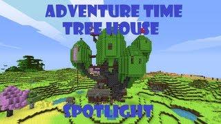 getlinkyoutube.com-Minecraft Adventure Time Tree House Spotlight