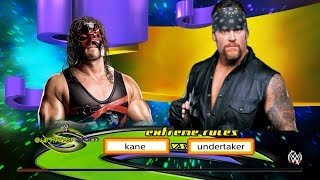 "getlinkyoutube.com-Kane vs Undertaker ""American Badass"" WWE 2K15"