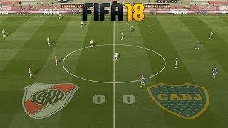 FIFA 18 | Boca vs River - JUEGO COMPLETO | PC GAMEPLAY