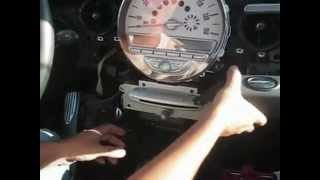 getlinkyoutube.com-R56 (2006 - 2010) MINI Cooper Speedometer and Radio Removal How-To