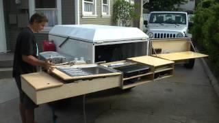 getlinkyoutube.com-Dominion OffRoad Trailer Kitchen
