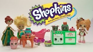 getlinkyoutube.com-Shopkins happy places and strawberry shortcake Toy Review and Unboxing