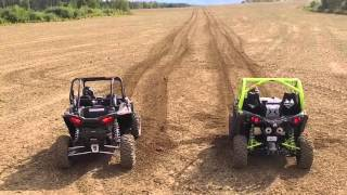 getlinkyoutube.com-Can Am Maverick X ds TURBO vs RZR XP TURBO EPS