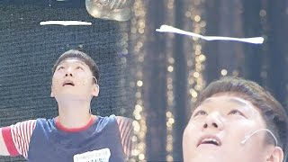 getlinkyoutube.com-날아라! 깜짝 '종이비행기' 곡예쇼  @놀라운 대회 스타킹 20150718