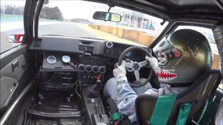 "getlinkyoutube.com-Tsukuba 2000 ""AE86 4AG for man"" break in 筑波2000 ならし(オチ付き)"