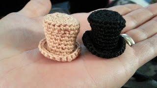 getlinkyoutube.com-Crochet Mini Top Hat
