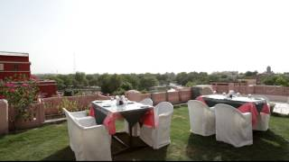 Roof Top Restaurant at Hotel Raj Vilas Palace, Bikaner