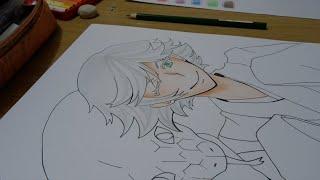 Drawing Mizuki from Kamisama Hajimemashita