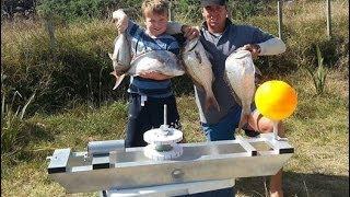 getlinkyoutube.com-ShoreThing Kontiki Longline Fishing for Snapper Uretiti Beach