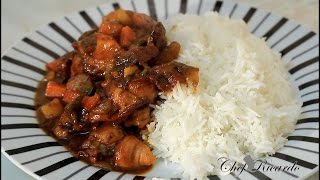 getlinkyoutube.com-World's Best Stew Chicken Recipes Video