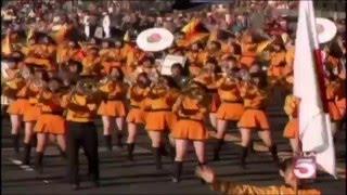 getlinkyoutube.com-KYOTO TACHIBANA HS - ROSE PARADE 2012 - TV Broadcast