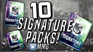 10 Road Sign Signature Packs! 93-98 Overall! Madden Mobile 16