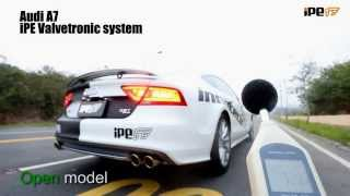 getlinkyoutube.com-Best exhaust system for Audi A7 from - iPE UK Innotech Performance Exhaust (test2)