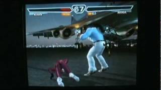getlinkyoutube.com-Tekken 4: Christie,King vs Heihachi,Nina,Julia