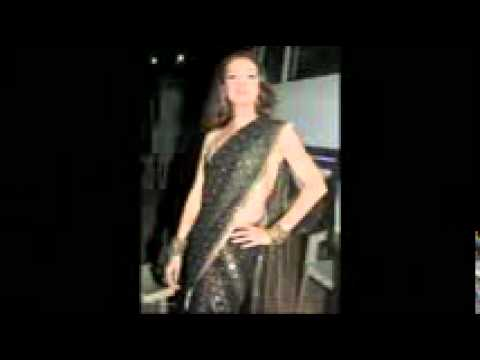 Diya Mirza in designer saree