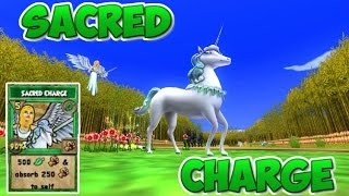 getlinkyoutube.com-Wizard101: Sacred Charge (New Life Spell) -Test Realm-