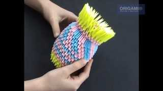 getlinkyoutube.com-Ваза оригами