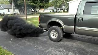 getlinkyoutube.com-6.0 Powerstroke lope and smoke
