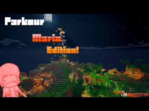 Minecraft: Epic Jump Map MARIO EDITION Part 4!