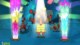 getlinkyoutube.com-SpongeBob's Game Frenzy: Beat the Great Wumbozi Challenge - Nicklodeon Games
