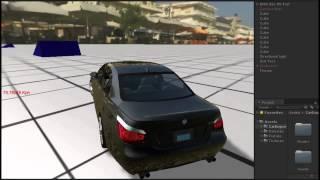 getlinkyoutube.com-Unity 3d Car Damage system Gta Style #1