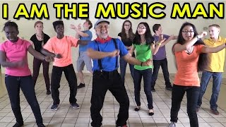 getlinkyoutube.com-I am the Music Man - Action Songs for Children - Brain Breaks - Kids Songs by The Learning Station