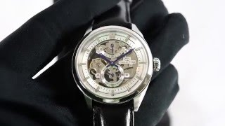 getlinkyoutube.com-Orient Star SDX00002W DX00002W Skeleton