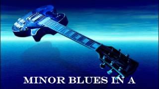 getlinkyoutube.com-Blues in A minor Backing Track