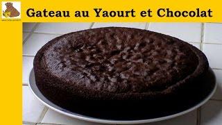 getlinkyoutube.com-Gateau au yaourt et chocolat (recette rapide et facile)