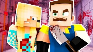getlinkyoutube.com-NEIGHBORS BIGGEST SECRET! | Hello Neighbor Minecraft Roleplay