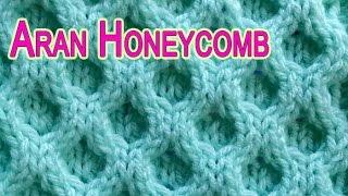 getlinkyoutube.com-Classic Aran Honeycomb