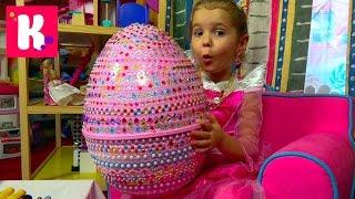 getlinkyoutube.com-Принцессы Дисней Катя Принцесса Аврора и много прикольных аксессуаров для девочек Disney Princess