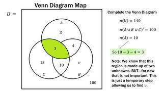 download video  finite math  venn diagram basicsfinite math  venn diagram practice problems