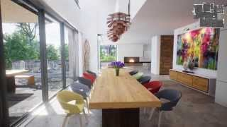 getlinkyoutube.com-Modern House Real Time Virtual Tour