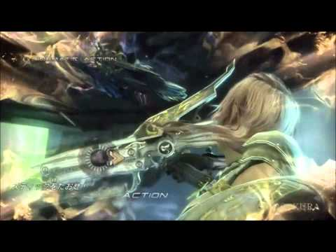 Final fantasy xiii-2 Lightning  vs Caius (epic battle)
