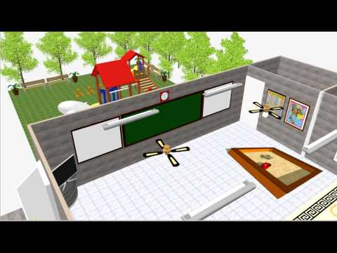 โครงงานการออกแบบห้องเรียน ชั้นอนุบาล 1 โรงเรียนบ้านท่าขอนยาง จังหวัดมหาสารคาม
