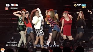 getlinkyoutube.com-【LIVE中字】151117 原畫畫質 RANIA - Demonstrate @ SBS The Show