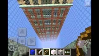 getlinkyoutube.com-Minecraft PE The Faller (Dropper map) Update v 1.1