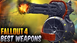 Fallout 4 Best Weapons - Explosive Minigun Most Overpowered Weapon (Fallout 4 Rare Weapons)
