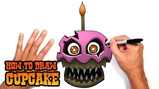 getlinkyoutube.com-How to Draw Nightmare Cupcake (FNAF 4)- Easy Art Lesson