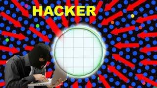 getlinkyoutube.com-AGARIO IS HACKED - BOTS EVERYWHERE - SPY SKIN GAMEPLAY