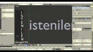getlinkyoutube.com-Blender 2.75 Pratik yazı yazma ve düzenleme | sessiz seri