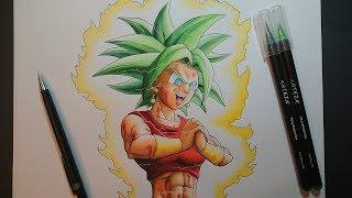 Drawing Kefla | Dragon Ball Super Art   Arteza Brush Pen Review