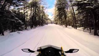 getlinkyoutube.com-First Snowmobiling trip of the 2015 season - Old Forge 12 20 14
